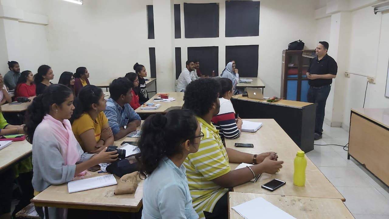 Saurabh Karandikar for the students of 3rd year