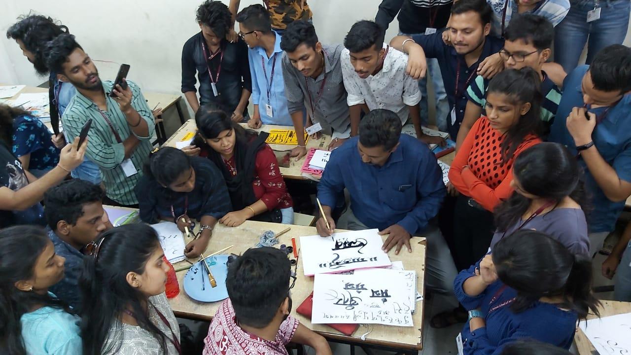 Manohar Desai – Calligraphy 2nd Year
