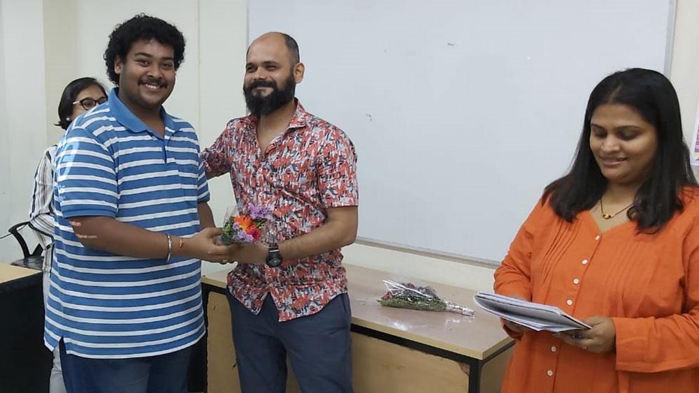 Mr. Chetan Patil & Mrs.  Prajyoti Chetan 3rd Year