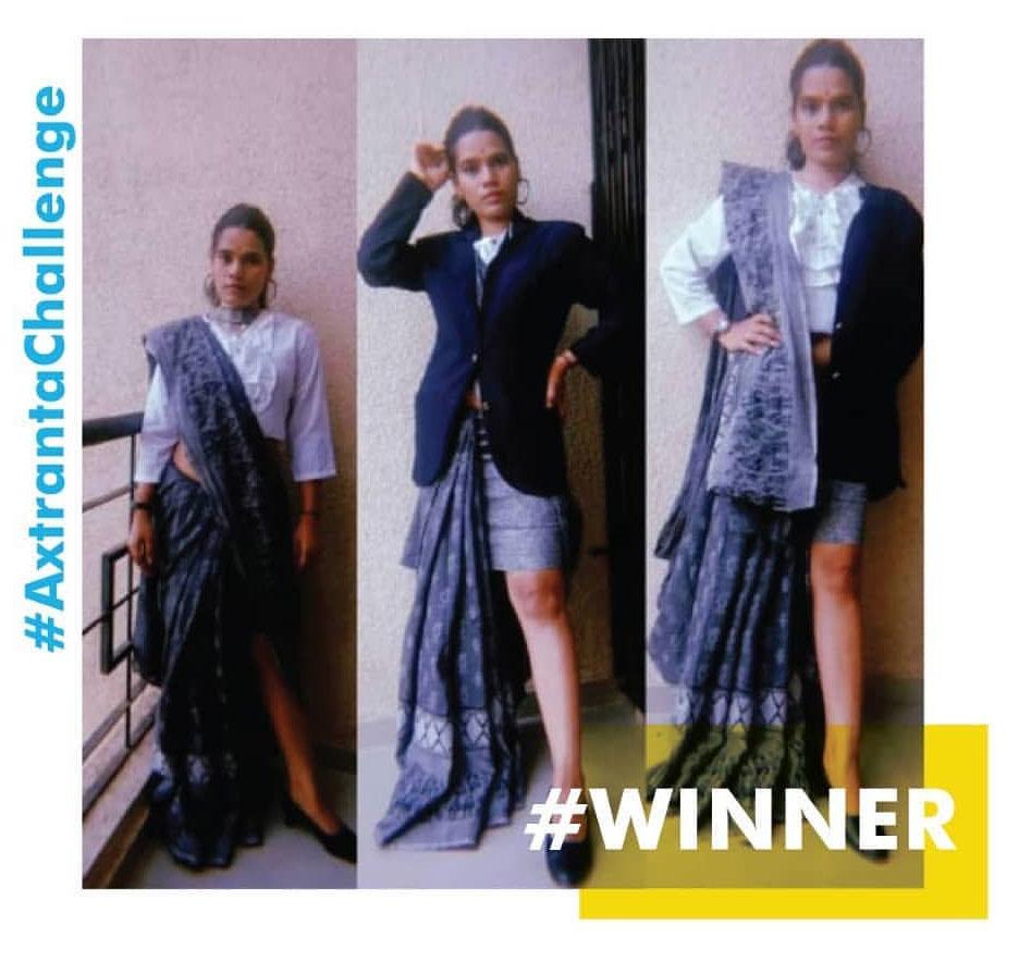 2020 Fashion 'Chandi Gupta'won the Online Design Challenge by Axtract & Speranta